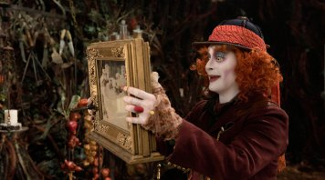 Alice Through the Looking Glass Mad Hatter & Ant Farm