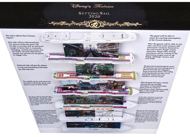Disney Cruise Ship Concept created by Kristine Sanders