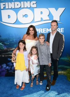 Mandatory Credit: Photo by Buckner/Variety/REX/Shutterstock (5718195dn)Lindsey Collins and family'Finding Dory' film premiere, Los Angeles, America - 08 Jun 2016 [http://variety.com/gallery/finding-dory-premiere-photos-red-carpet/#!15/lindsey-collins-and-family/]