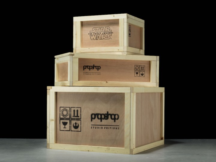 Star Wars The Force Awakens Propshop Replicas Shipping Crates