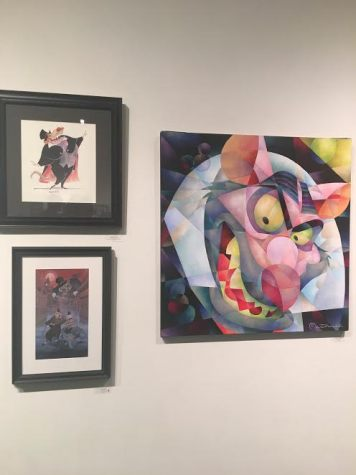 Gallery Nucleus Art Exhibit An Art Tribute to the Disney Films of Ron Clements & John Musker The Great Mouse Detective Ratigan Paintings
