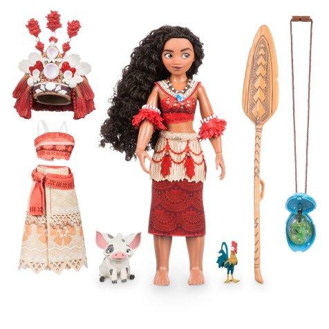 "Disney Holiday Season Shopping Black Friday Gift Ideas 2016 Disney Moana Singing Feature Doll Set 11"""