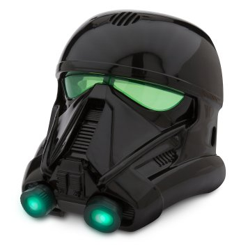 Disney Holiday Season Shopping Black Friday Gift Ideas 2016 Imperial Death Trooper Voice Changing Mask Rogue One: A Star Wars Story Helmet