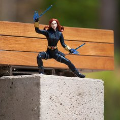 Disney Holiday Season Shopping Black Friday Gift Ideas 2016 Marvel Ultimate Series Black Widow Premium Action Figure 10""