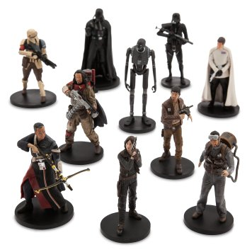 Disney Holiday Season Shopping Black Friday Gift Ideas 2016 Rogue One: A Star Wars Story Deluxe Figure Play Set