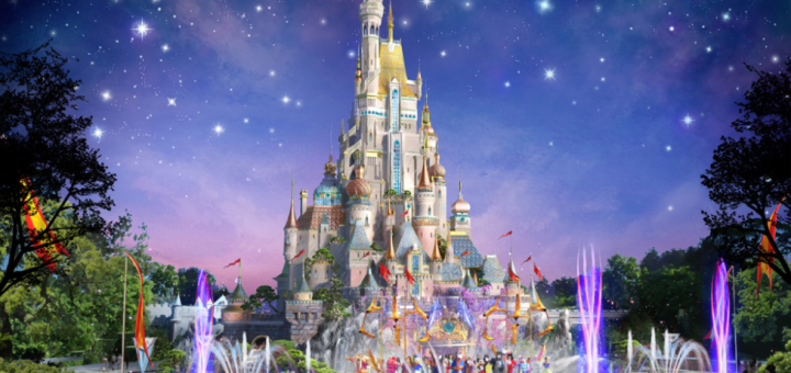 Hong Kong Disneyland New Expansion Castle