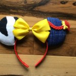 Jessie Toy Story Minnie Mouse Customizable Handmande DIY Ears Etsy TinkTreasEars