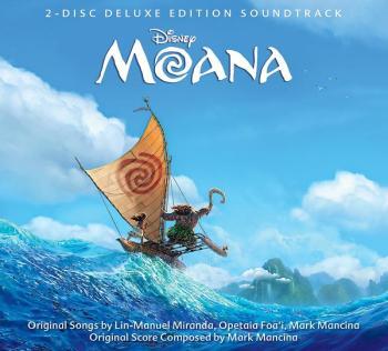 Moana Soundtrack Cover Walt Disney Records Music