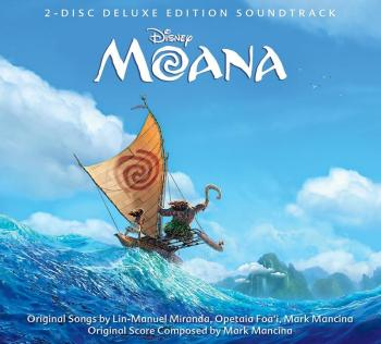 Moana Soundtrack Cover Walt Disney Records Music