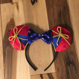 Sorcerer Mickey Fantasia Minnie Mouse Customizable Handmande DIY Ears Etsy TinkTreasEars