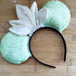 Tiana The Princess and the Frog Minnie Mouse Customizable Handmande DIY Ears Etsy HappilyEarAfter