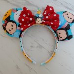 Tsum Tsum Minnie Mouse Customizable Handmande DIY Ears Etsy AnniesFairytaleBows