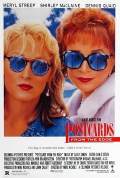 Postcards From The Edge Carrie Fisher Movie Poster