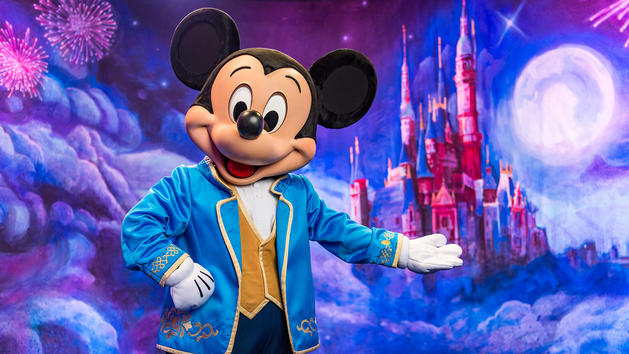 Shanghai Disneyland Mickey Mouse Face Character