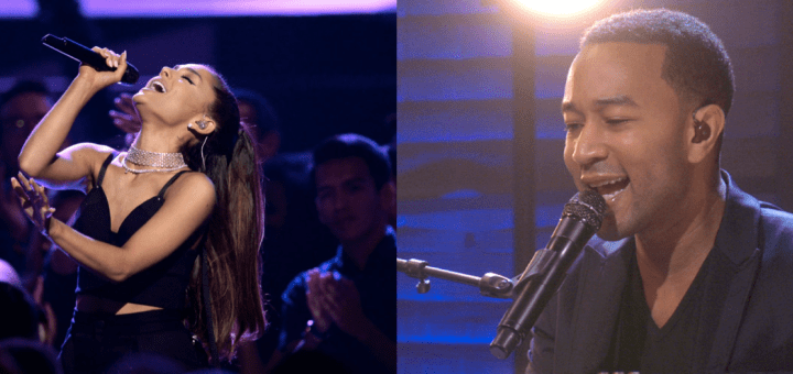 Ariana Grande John Legend Beauty and the Beast Duet