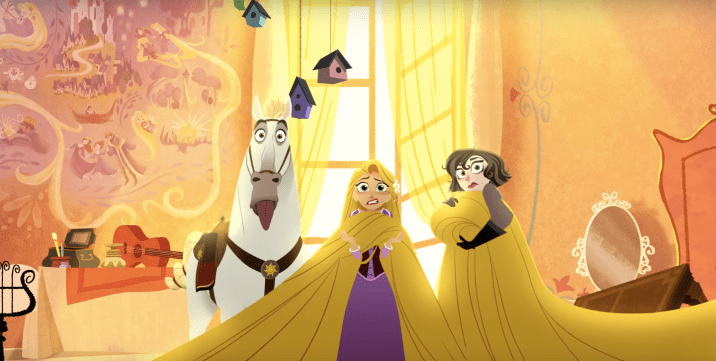 Tangled Before Ever After The Series Rapunzel Maximus Horse Hair
