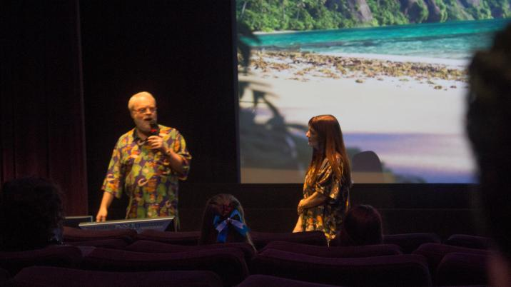 Moana Blu-ray special event features behind the scenes Walt Disney Studios Osnat Shurer and Ron Clements