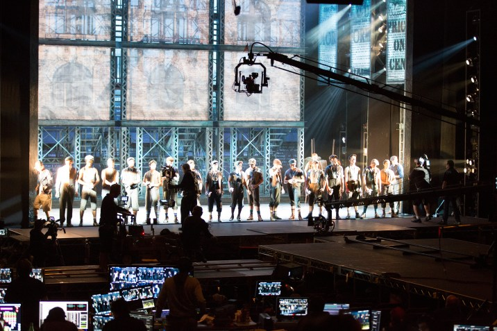 Newsies: The Broadway Musical Fathom Events Live Performance Behind the Scenes Filming