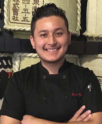 Hiroki Uchida The Blind Rabbit Chef OC Chef's Table Portrait
