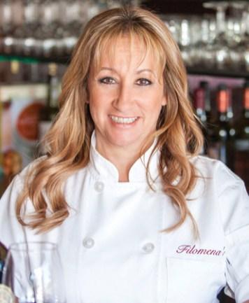 Linda Johnsen Filomena's Italian Kitchen Chef OC Chef's Table Portrait