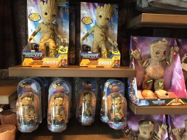 Guardians of the Galaxy Mission BREAKOUT Grand Opening Baby Groot Merchandise