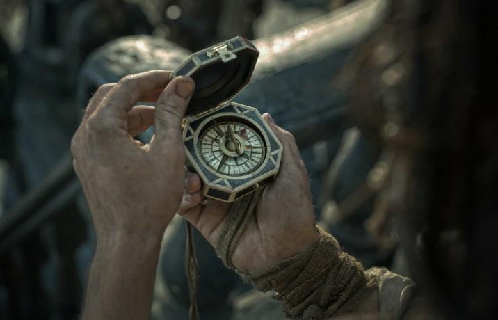 Pirates Of The Caribbean Dead Men Tell No Tales Review DisneyExaminer Jack Sparrow Compass