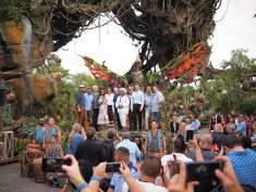 Pandora World of Avatar Grand Opening Coverage DisneyExaminer Group Photo