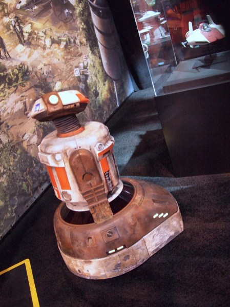 Jake The Droid Star Wars Land D23 Expo 2017 DisneyExaminer