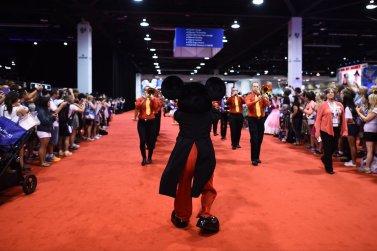 Mickey Mouse Parade Leader D23 Expo 2017 DisneyExaminer