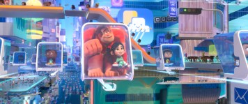 Disney Animation Ralph Breaks the Internet Internet and People Design