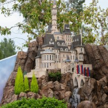 Castle Peak And Railroad Dave Sheegog Mini Disneyland Feature DisneyExaminer Beauty And The Beast