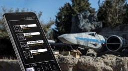 This is how the app from Play Disney looks on a smart phone while in Star Wars: Galaxy's Edge at Disneyland. Photo courtesy The Disneyland Resort.