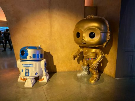 Funko Hollywood DisneyExaminer Visit R2D2 C3P0 Star Wars