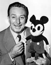 Walt Disney with Mickey
