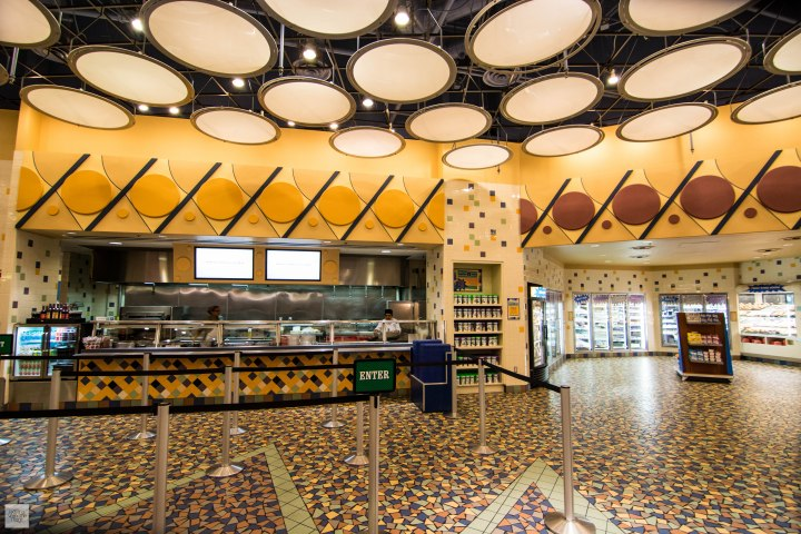 cafeteria disney's pop century resort comida