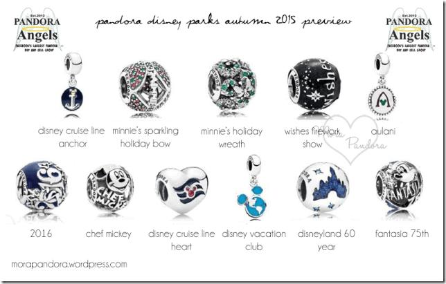 disney world park exclusive pandora charms 2018