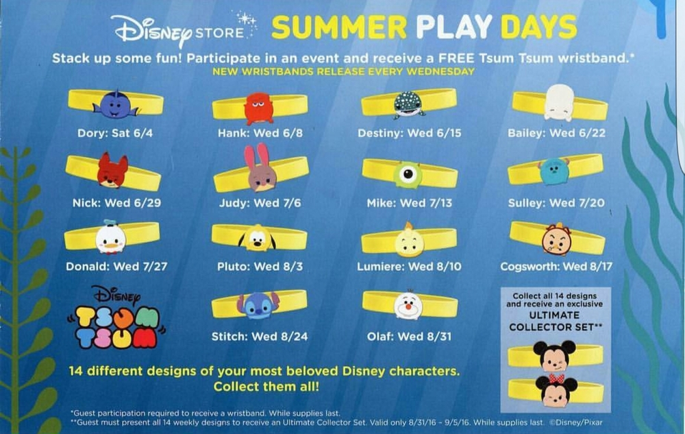 Splash Into Summer With Disney Store Summer Play Days