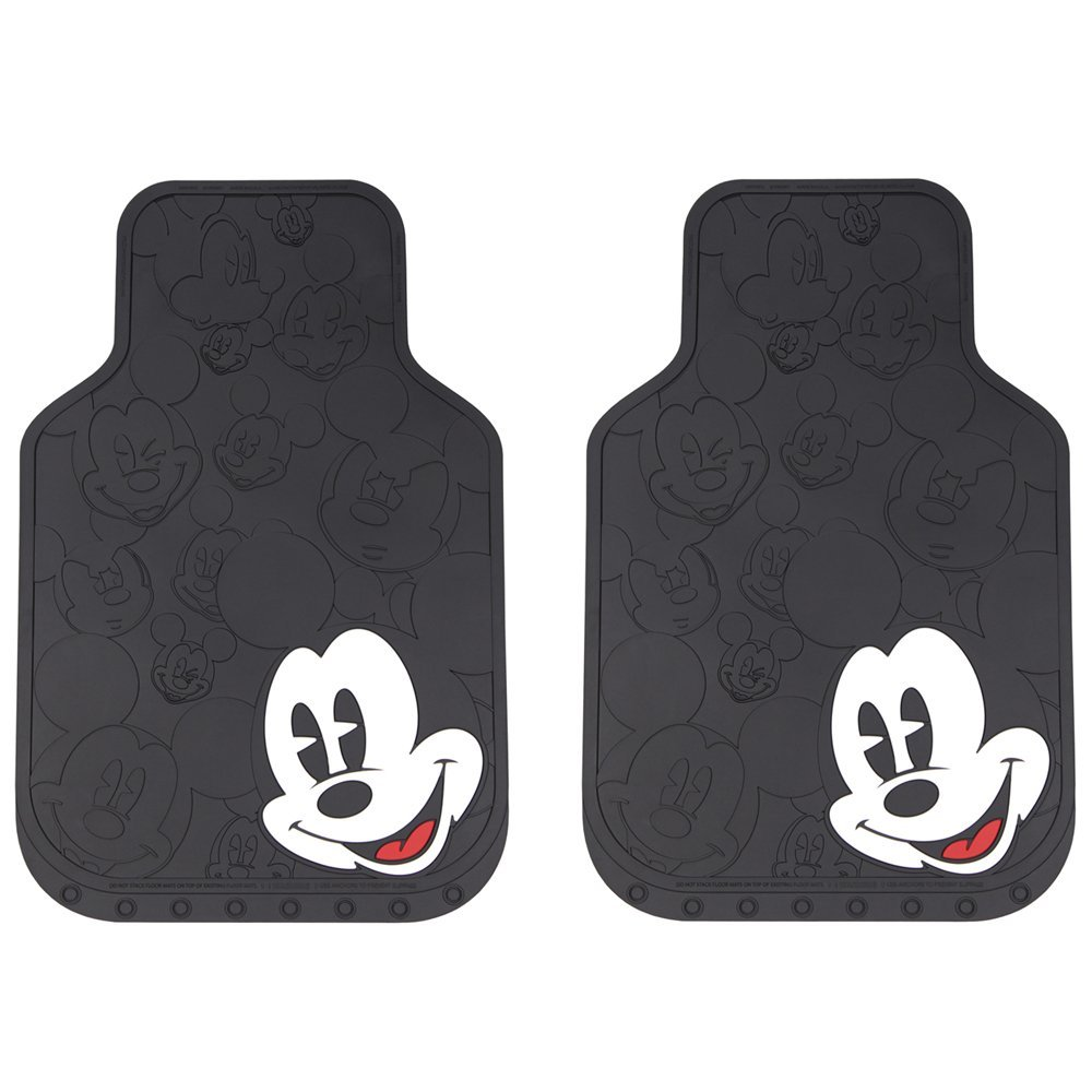 Disney Discovery Mickey Mouse Rubber Floor Mats