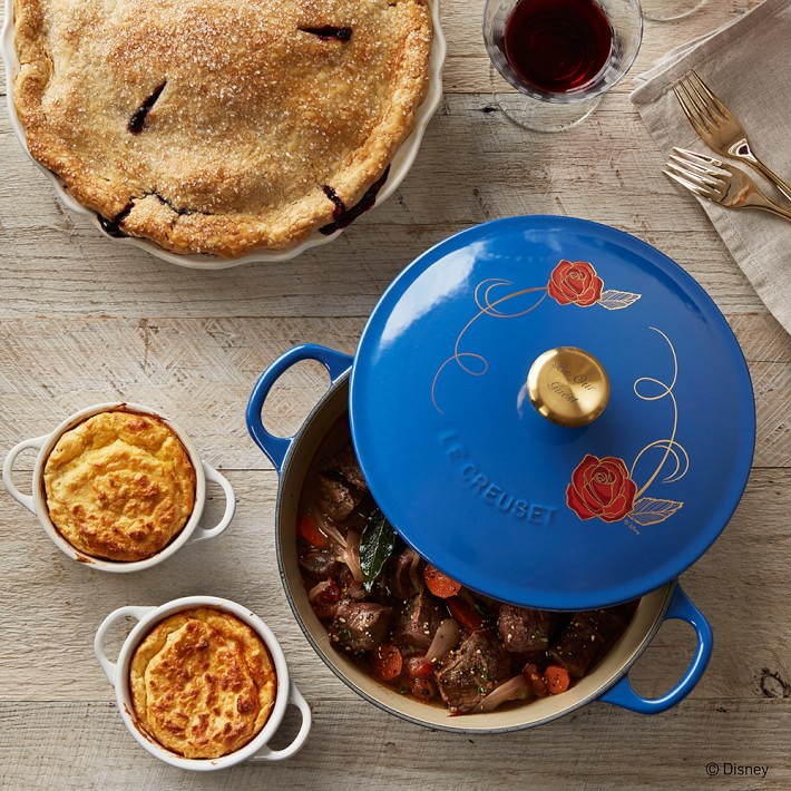 le creuset soup pot. You Can Serve A Culinary Cabaret With This Beauty And The Beast Le Creuset Soup Pot