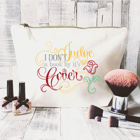 Show Your Inner Beauty With This Disney Quote Makeup Bag