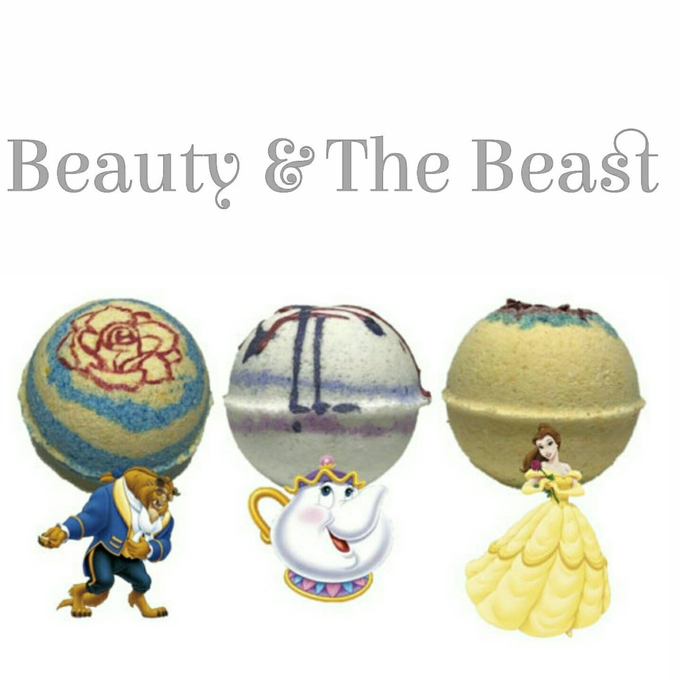 Love Each Other When Two Souls: Treat Yourself With The Beauty And The Beast Inspired Bath