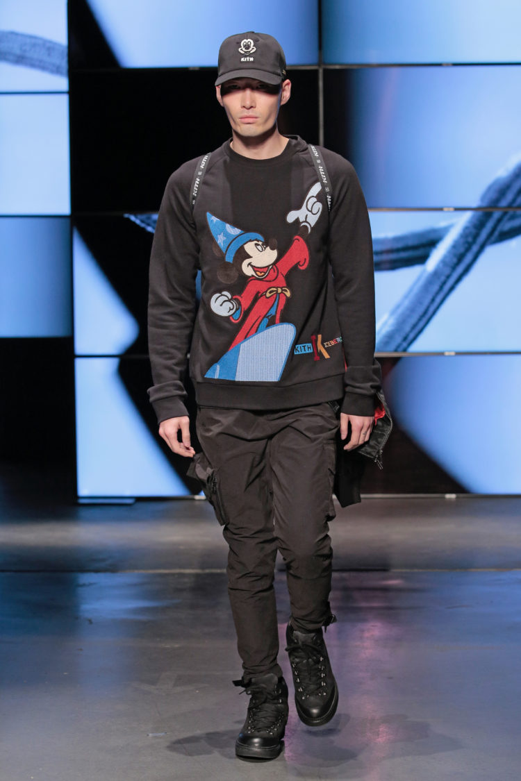 Mickey Mouse Walks The Runway At The Kith Fashion Show