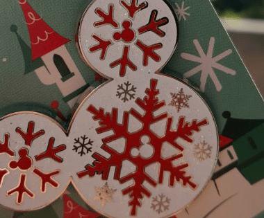 Christmas Disney Trading Pins