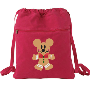 Gingerbread Mickey Backpack