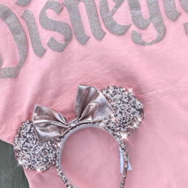 Rose Gold Minnie Ears