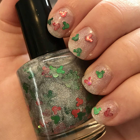 Jolly Mickey Nail Polish