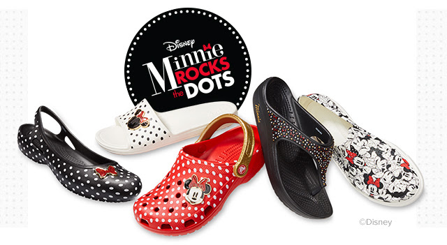 Special-Edition Minnie Mouse Crocs