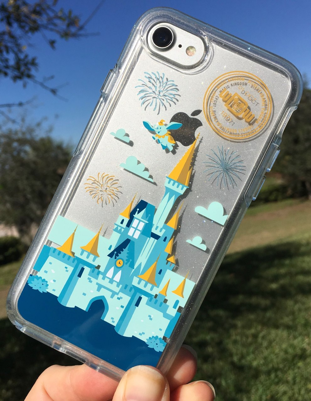 huge selection of ffa91 8b1a7 Disney world otterbox iphone x