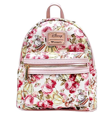 9882d9201657 Disney Discovery- Loungefly Belle Floral Mini Backpack