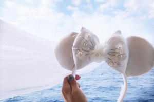 Bridal Minnie Mouse Ears